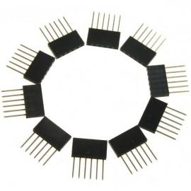 Разъём Stackable Header - 6 Pin для Arduino