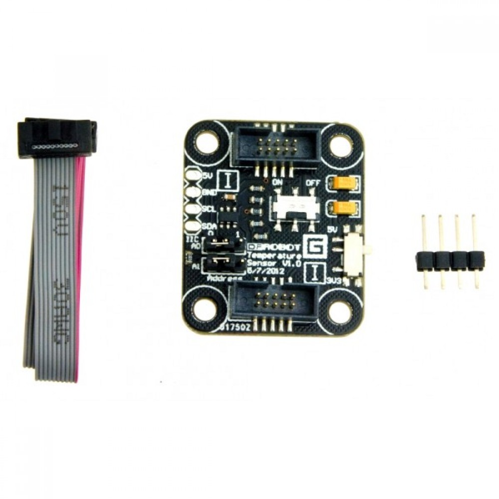 Датчик температуры TMP100 для Arduino