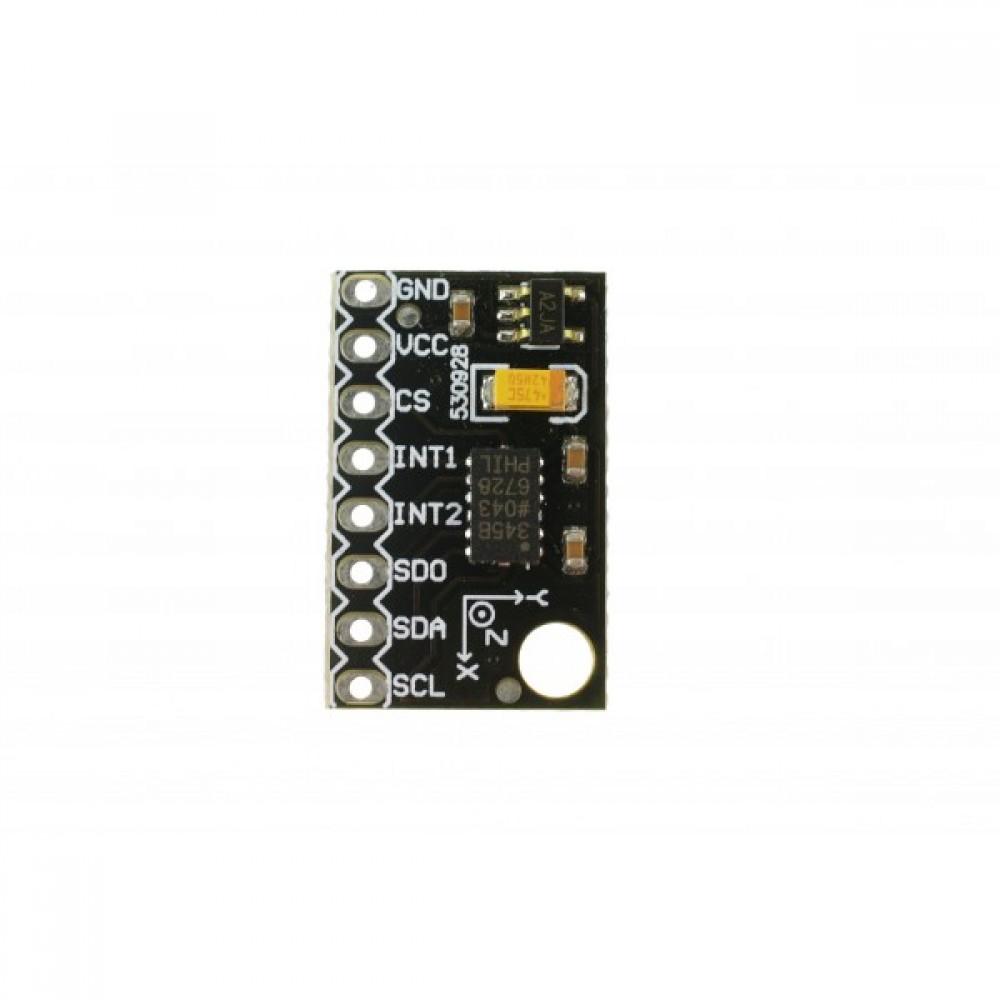 Wiring Test Adafruit LIS3DH Triple-Axis Accelerometer