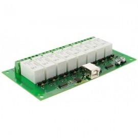USB-RLY16L (16 Low Power 8-канальных релейных выхода на 16A)