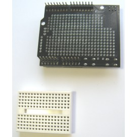 Arduino Prototype Shield ПЛАТА + mini Breadboard