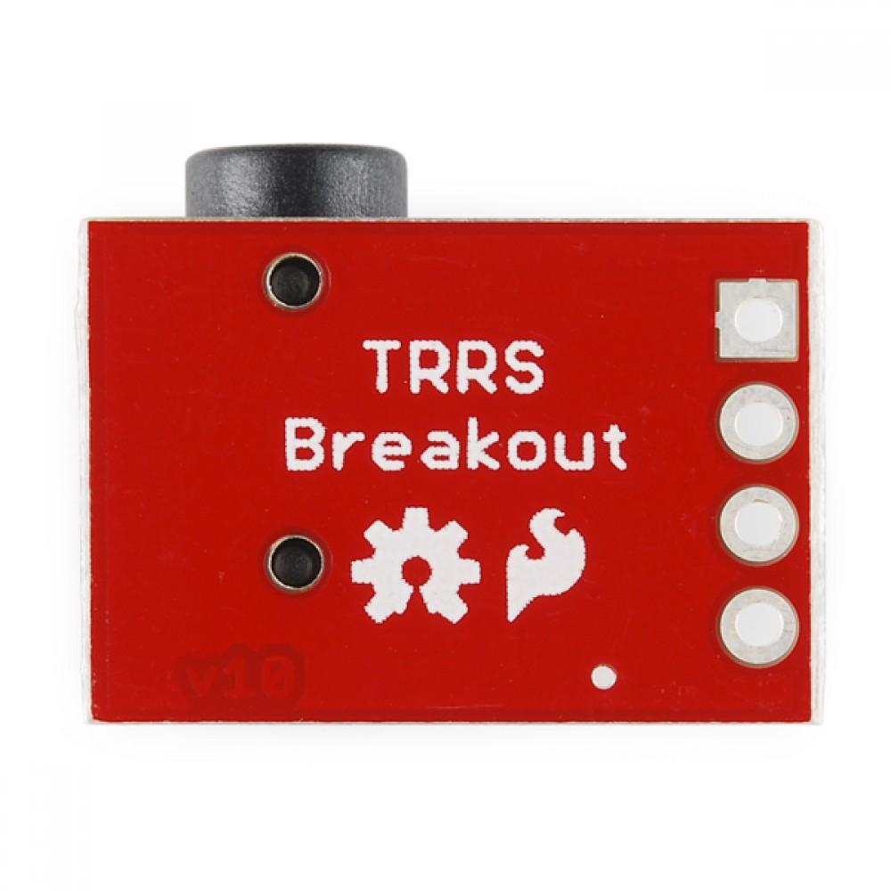 Аудио коннектор TRRS 3.5mm Jack Breakout к Arduino