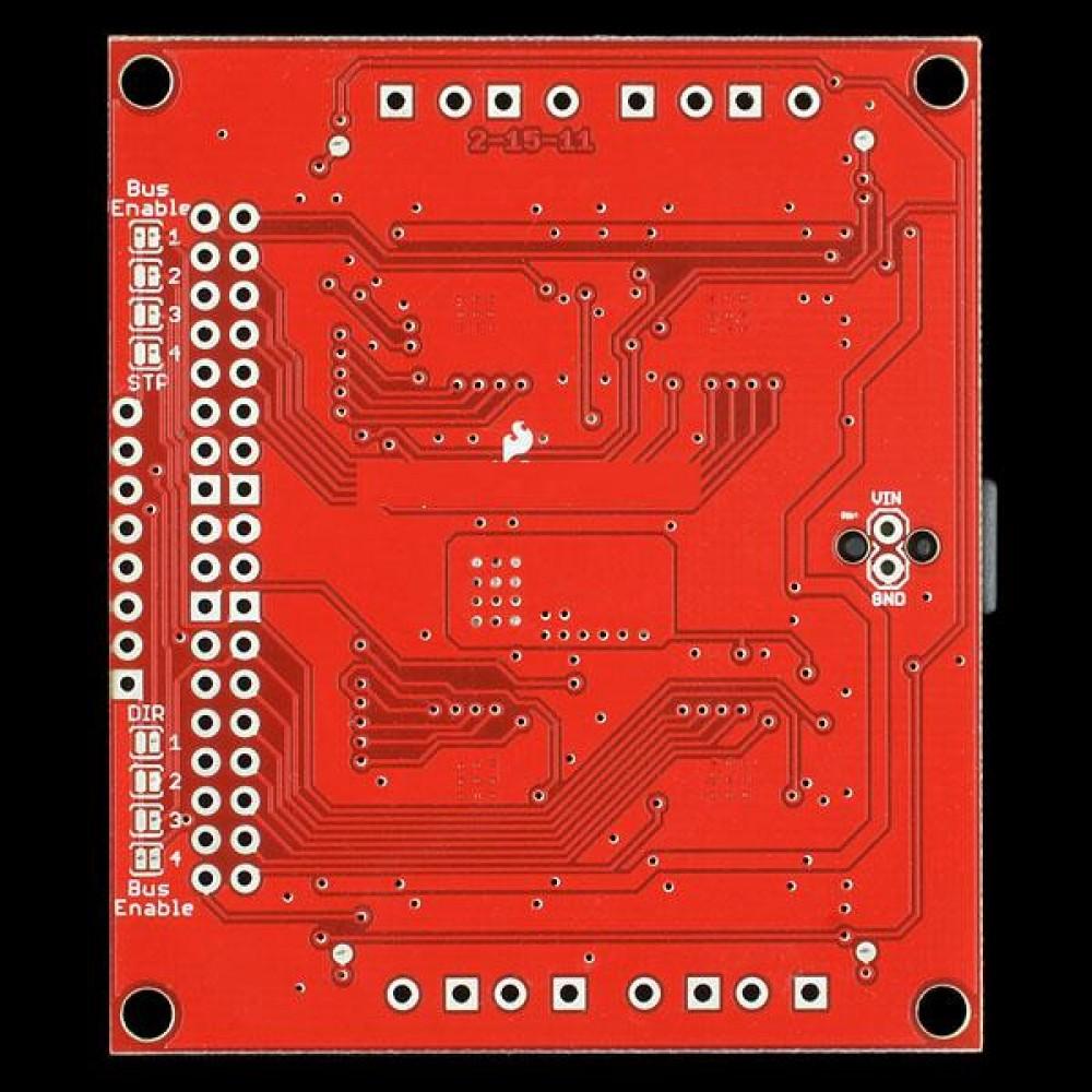 Плата Quadstepper Motor Driver Board для Arduino