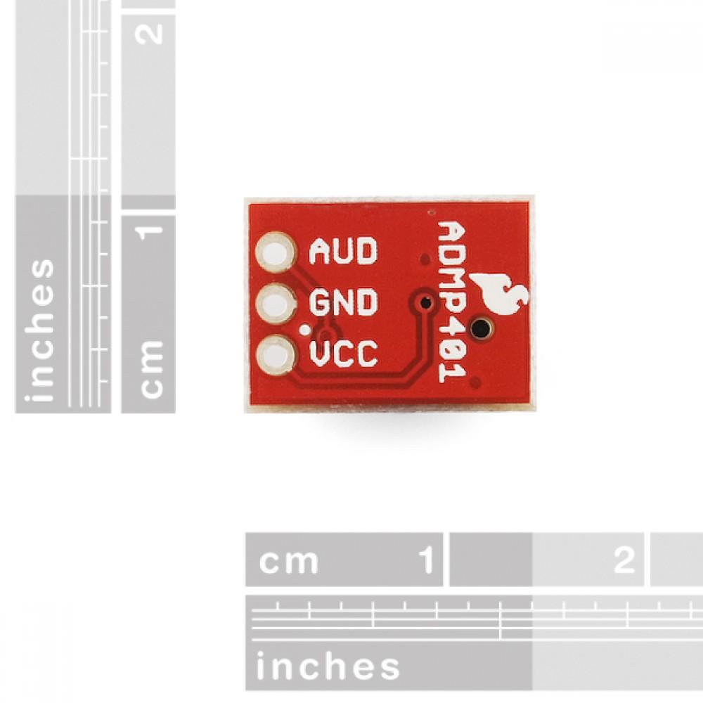 Интерфейсная плата для микрофона ADMP401 MEMS