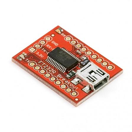 Интерфейсная плата для переходника FT232RL : USB --> Serial