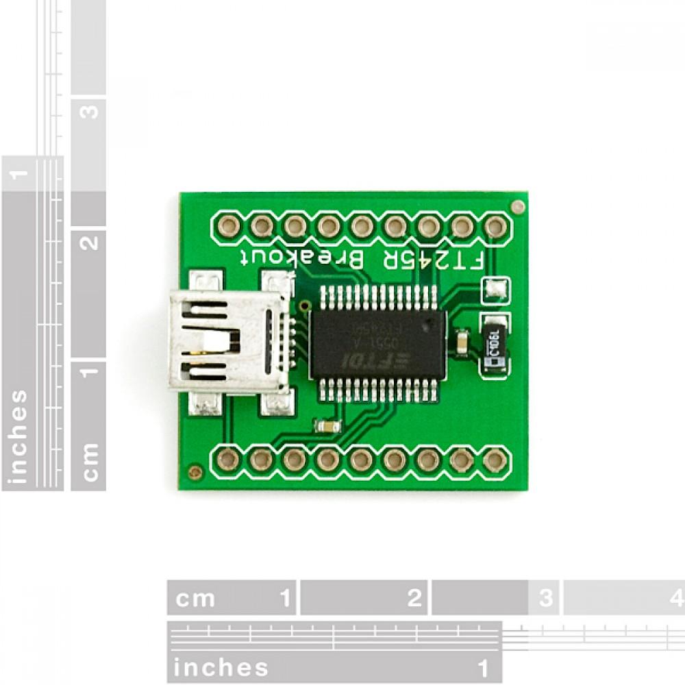 Интерфейсная плата для переходника FT245RL : USB --> FIFO