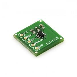 Интерфейсная плата для ЦАП MCP4725