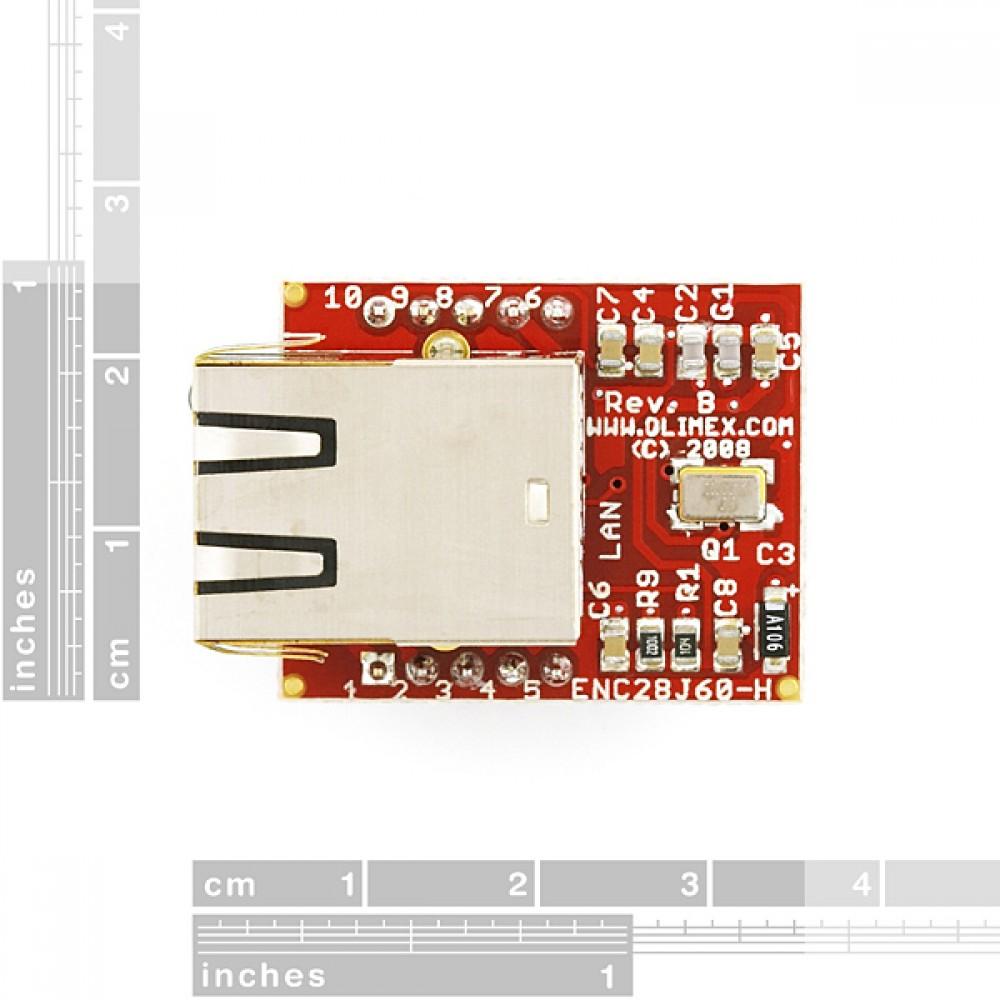 Интерфейсная ethernet-плата ENC28J60
