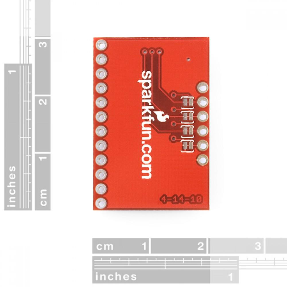 Интерфейсная плата для емкостного сенсора прикасания  MPR121