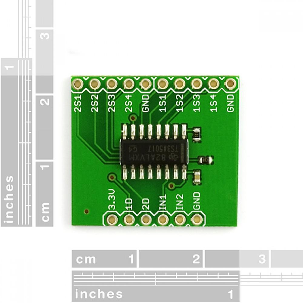 Разветвитель для серийного мультиплексора TS3A5017