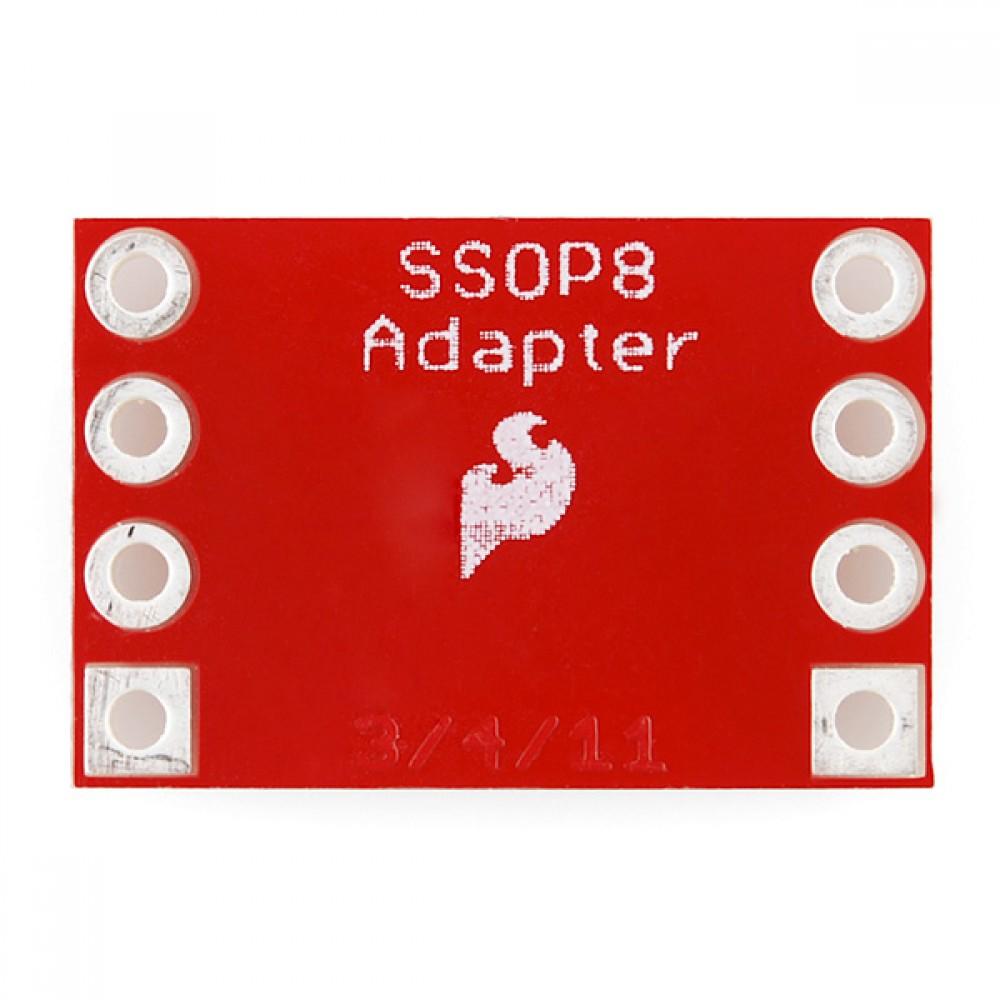 Переходник 8-пиновый SSOP --> DIP