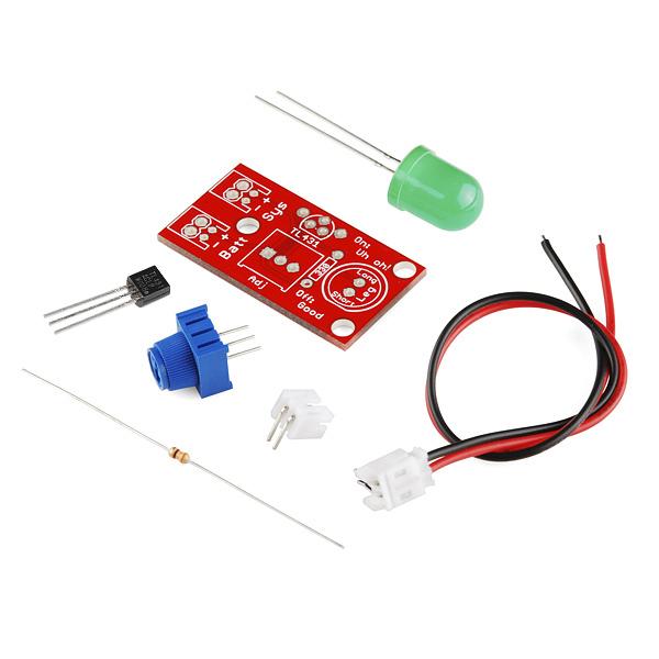 """Индикатор уровня заряда батареи """"Uh-oh"""" для Arduino"""