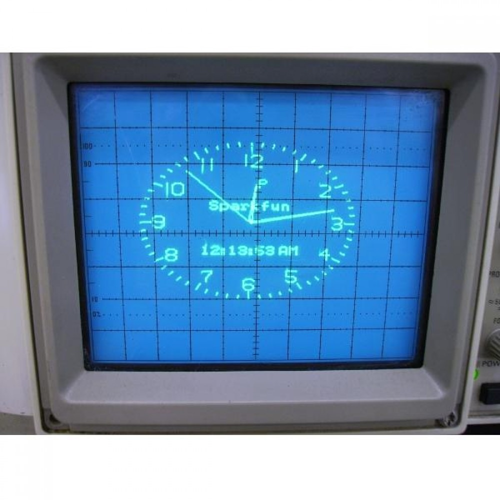 AVR Часы-осциллограф : O-Clock