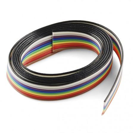 Резиновый кабель - 10 жильный (1 м)