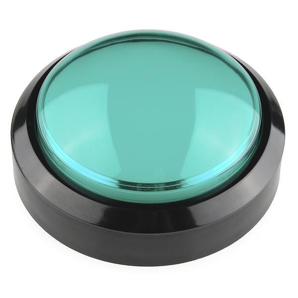 Кнопка Big Dome – Зеленая