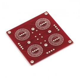 Подкладка для кнопок 2х2 - интерфейсная плата
