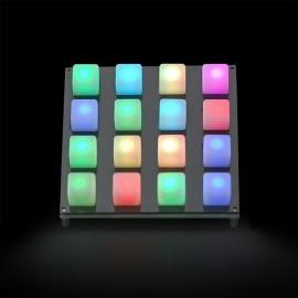 Подкладка для кнопок 4х4 -  поддержка LED