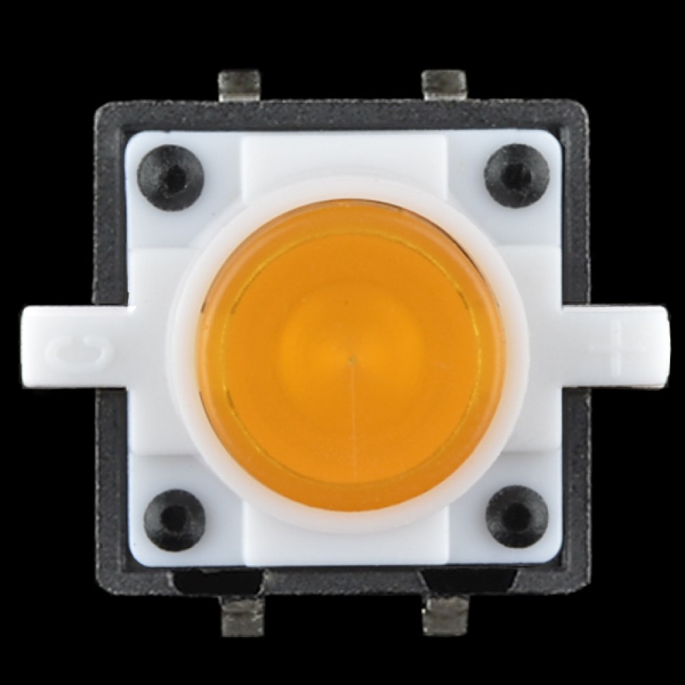 LED-кнопка - Оранжевая