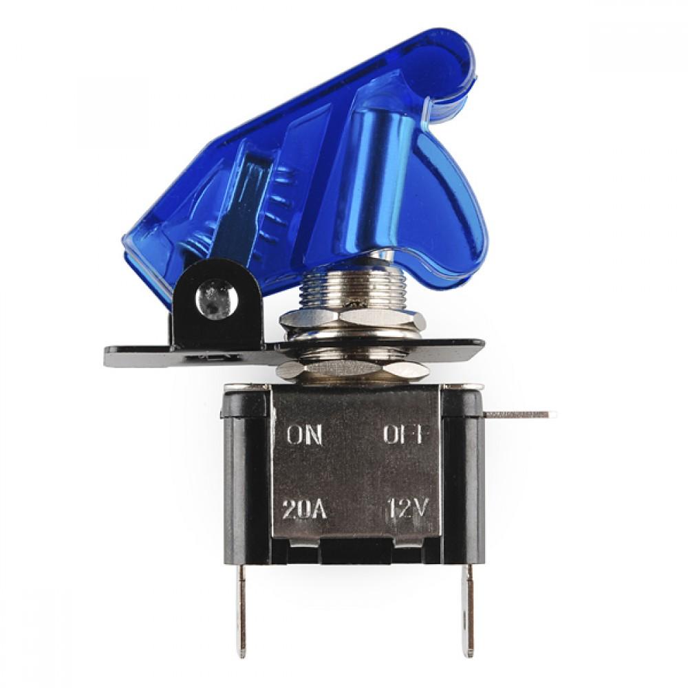 Тумблер и крышка - с освещением (синее)