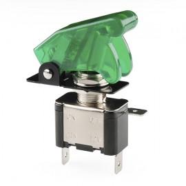 Тумблер и крышка - с освещением (зеленое)