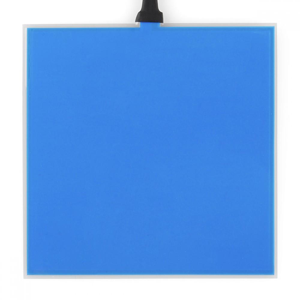 Люминесцентная панель - Синяя (10 x 10 см)