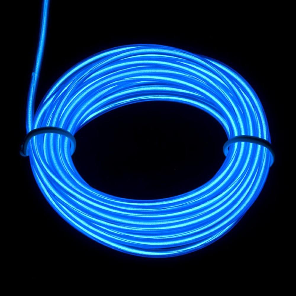 Люминесцентная лампа - Синяя, 3 м
