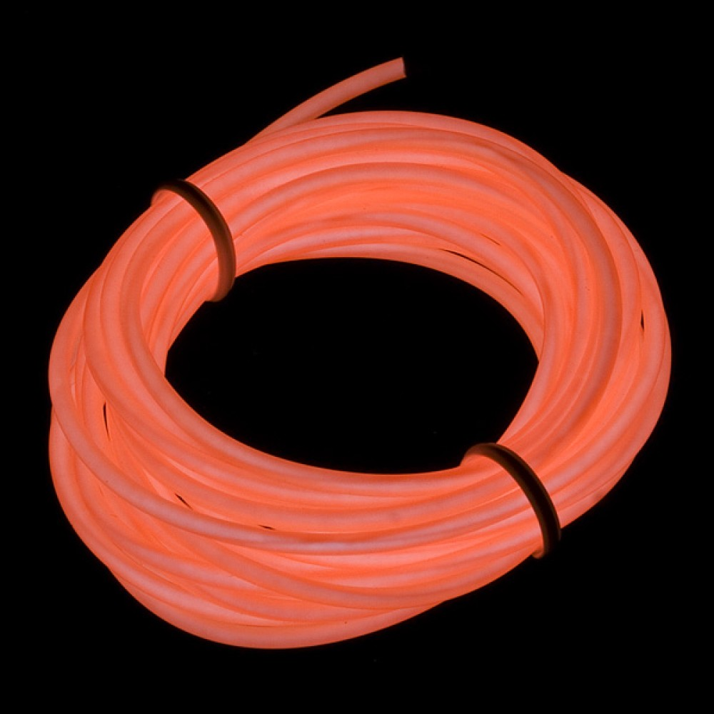 Люминесцентная лампа - Оранжевая, 3 м