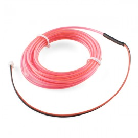 Люминесцентная лампа - Розовая, 3 м