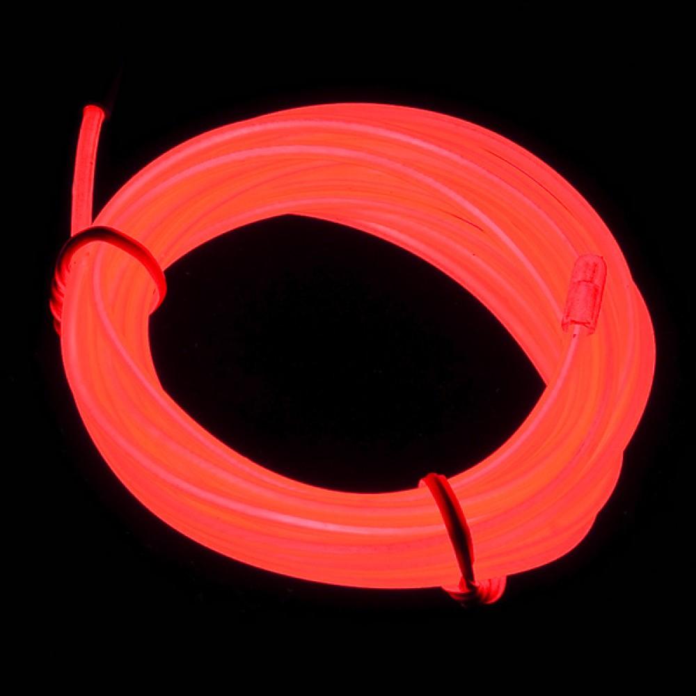 Люминесцентная лампа - Красная, 3 м