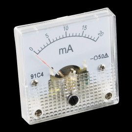 Аналоговый амперметр - до 20 мА