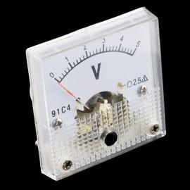 Аналоговый вольтметр до 5 В DC