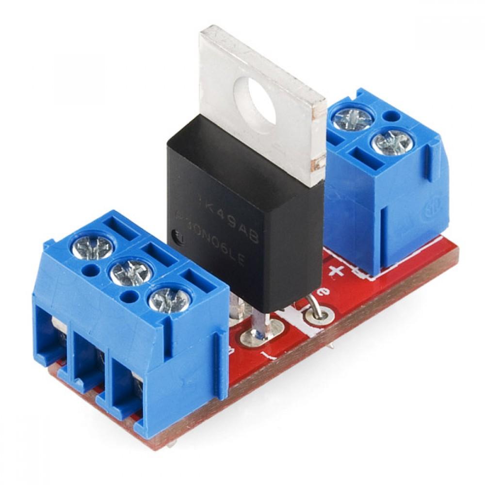 MOSFET Power Control Kit - схема питания