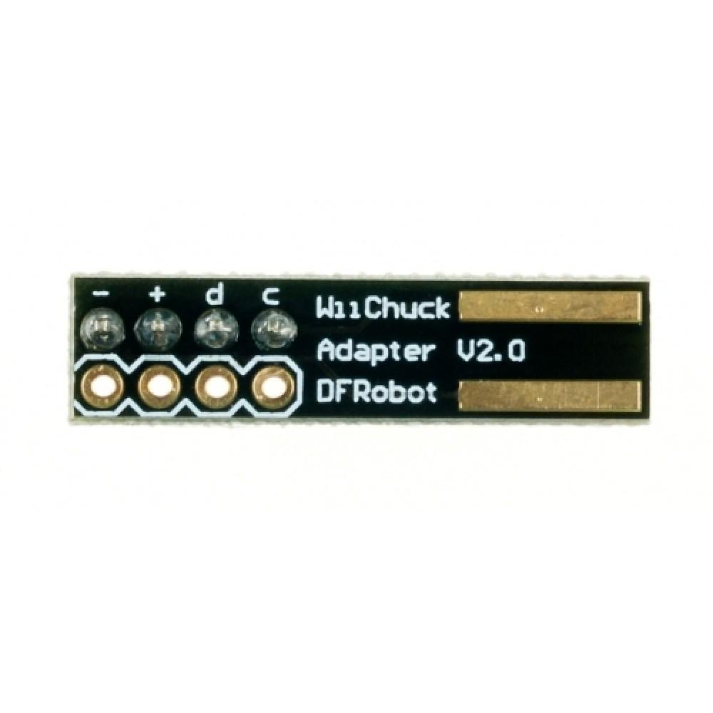 WiiChuck Adapter для Arduino