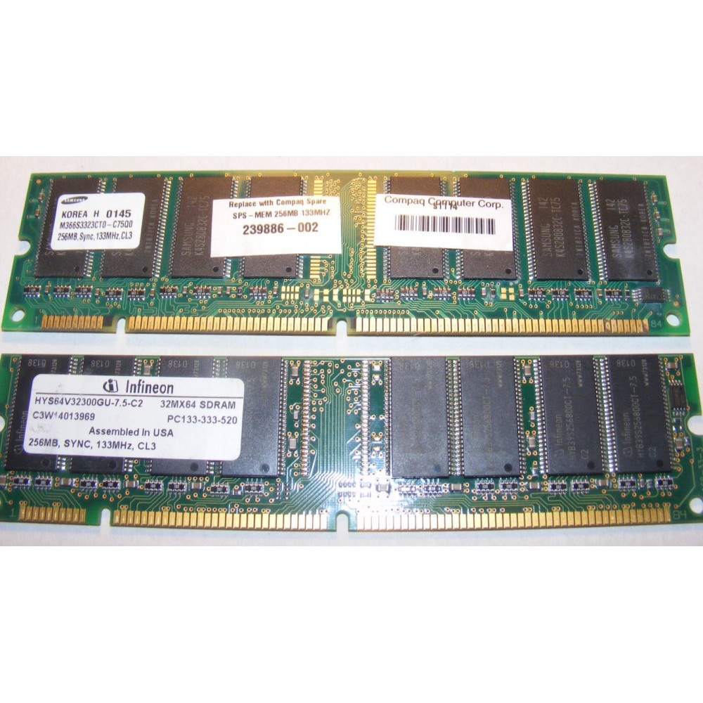 256 mb PC133