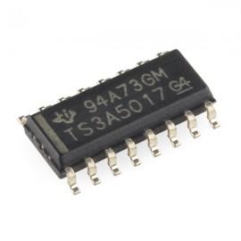 Dual Analog Mux/Demux - TS3A5017DR (двойной аналоговый мультиплексор/демультиплексор)
