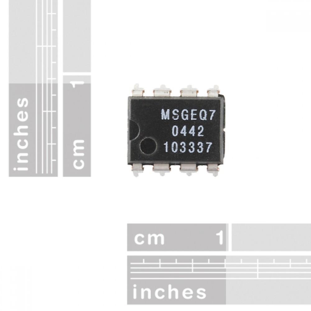 Фильтр дисплея графического эквалайзера - MSGEQ7
