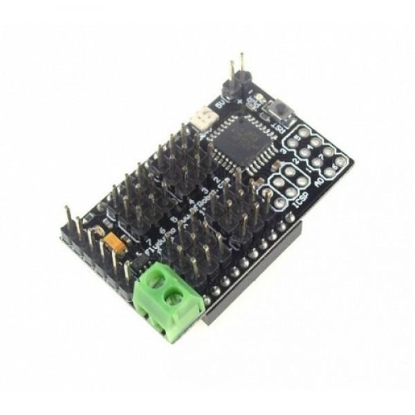 Flyduino-A 12 Servo Controller Atmega328 (Arduino)