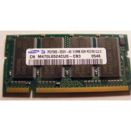 512MB PC2700 DDR 333Mhz SODIMM