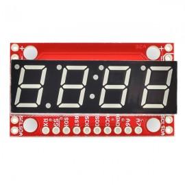 7-сегментный Serial-дисплей - Красный
