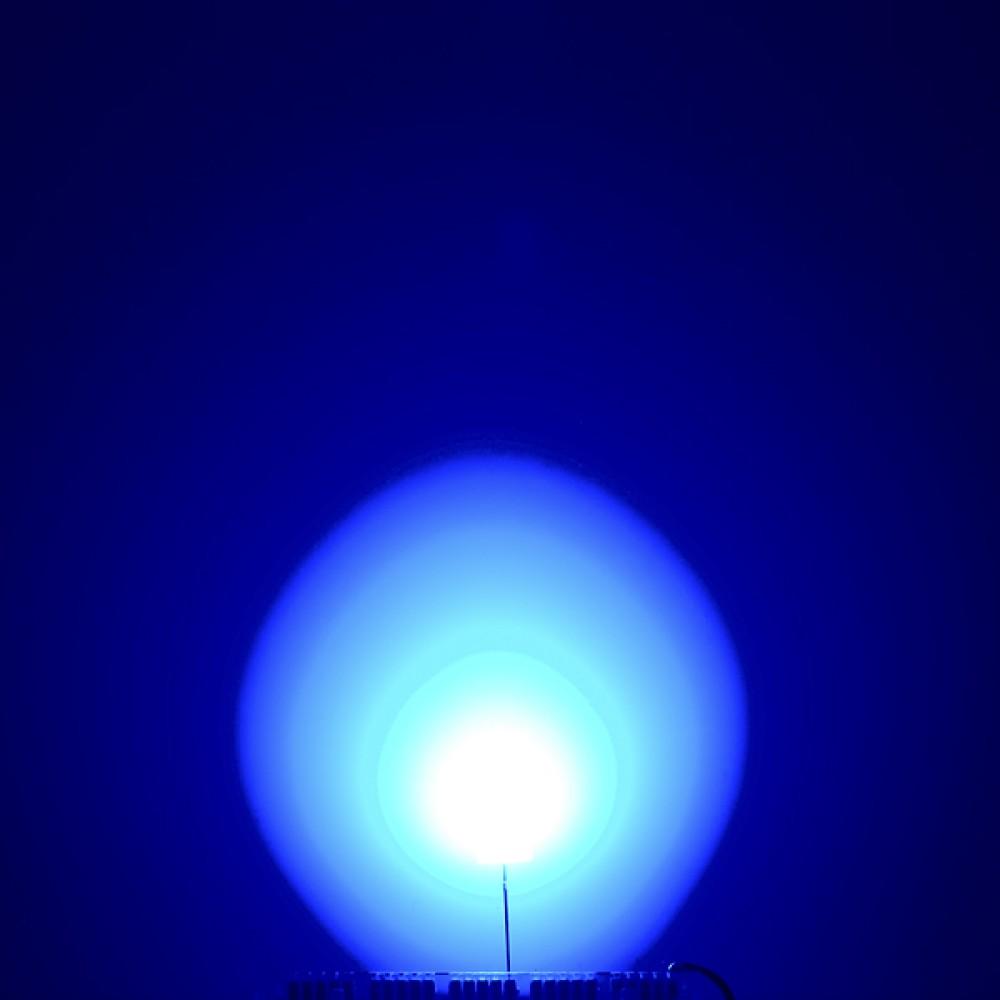 LED-индикатор рассеянного света - Синий, 10 мм