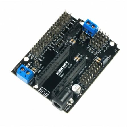 Nano I / O Shield для Arduino Nano