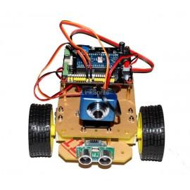 Мобильная платформа WiFi Robot c WiFi Видео Камера для Arduino