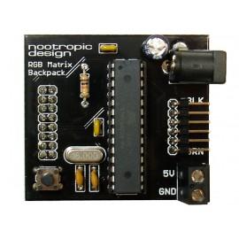 Задняя часть матрицы RGB Matrix Backpack для Arduino