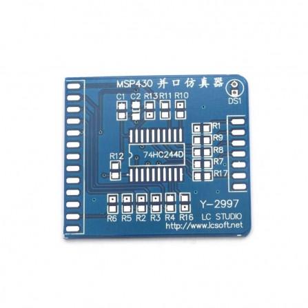 Плата Эмулятор MSP430 Parallel Port Emulator