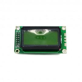 UART - серийный LCD-дисплей 8*2 символов