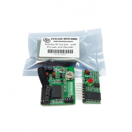 Набор для дистанционного радиоуправления 315 МГц с кодером и декодером