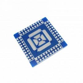 Адаптер/разветвитель QFN / QFP / TQFP / LQFP 16-80 to DIP Adapter/Breakout Board