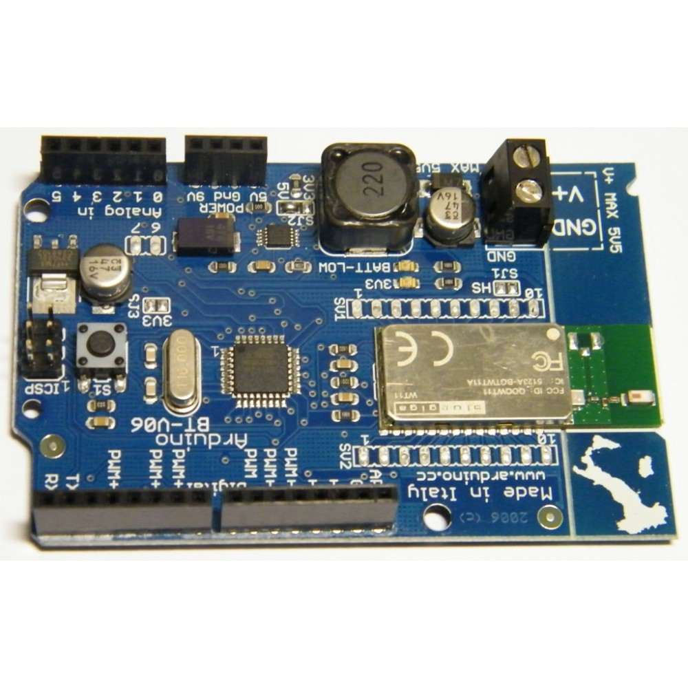 Плата Arduino Bluetooth BT-V06 с ATMega328 ИТАЛИЯ