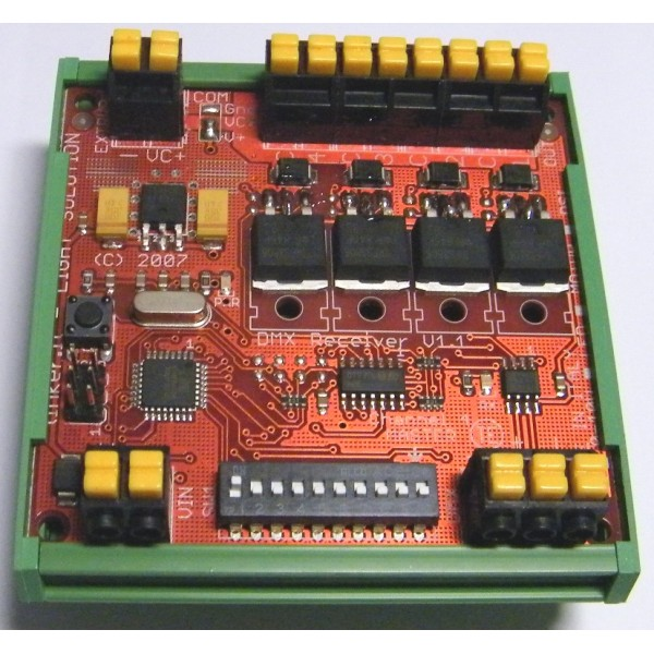 LED full-color RGB synchronization controller can drive