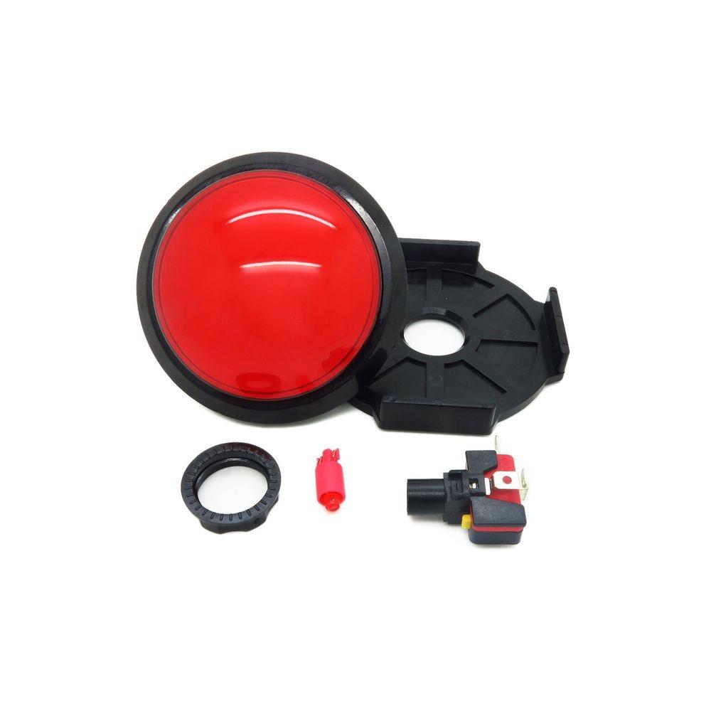 Кнопка декоративная большая - 100 мм